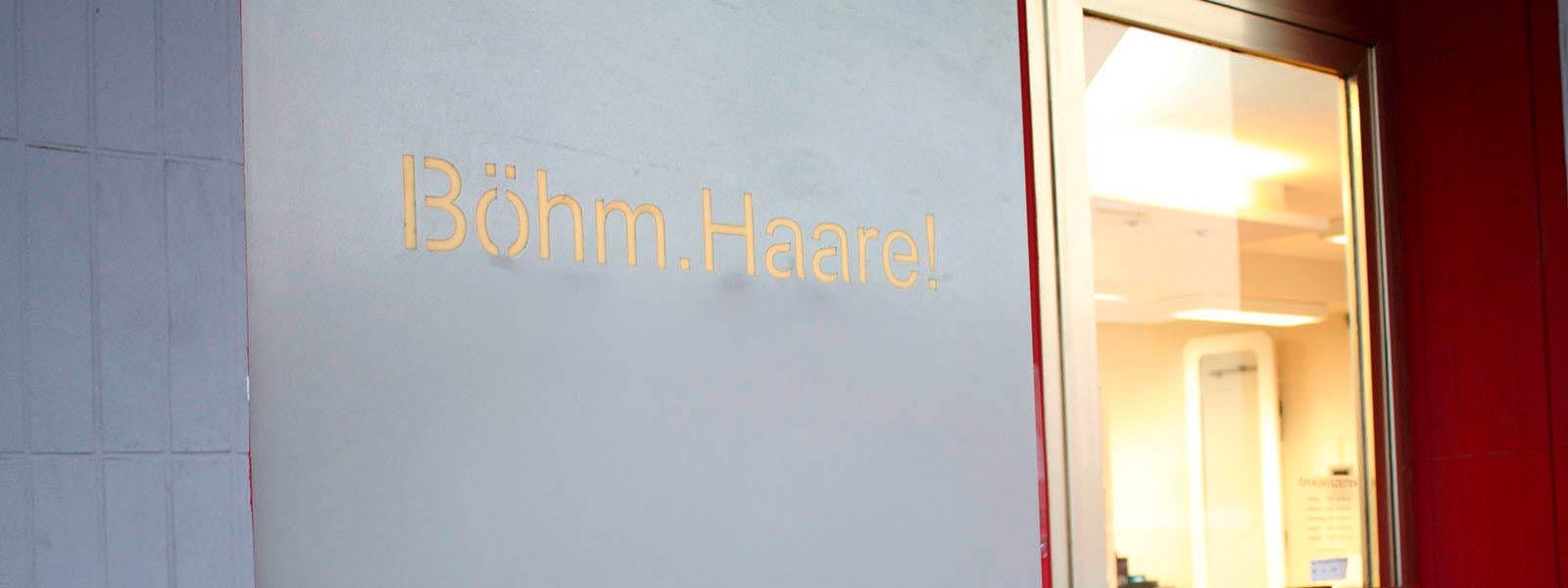 Boehm Haare Premiumcoiffure Friseur Neuwied Eingang 1